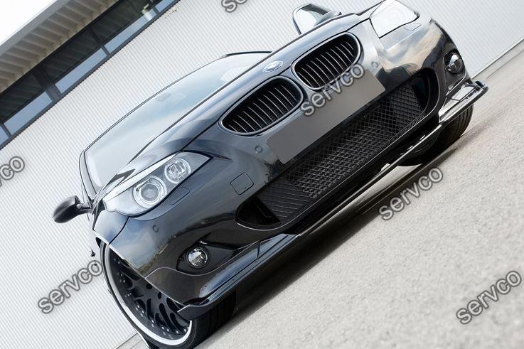 Prelungire difuzor spoiler bara fata BMW E60 E61 Hamann Mtech Aero pachet M v4