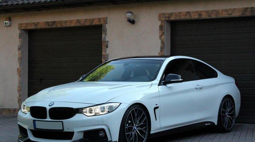 Prelungire difuzor spoiler splittere bara fata M Pachet BMW F32 F33 F36 v1