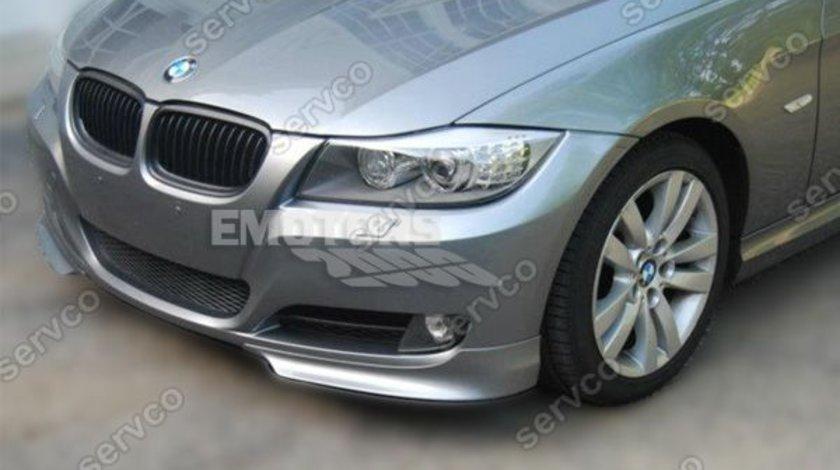 Prelungire difuzor spoiler splittere bara fata BMW E90 E91 M pachet LCI 2009 2010 2011 2012
