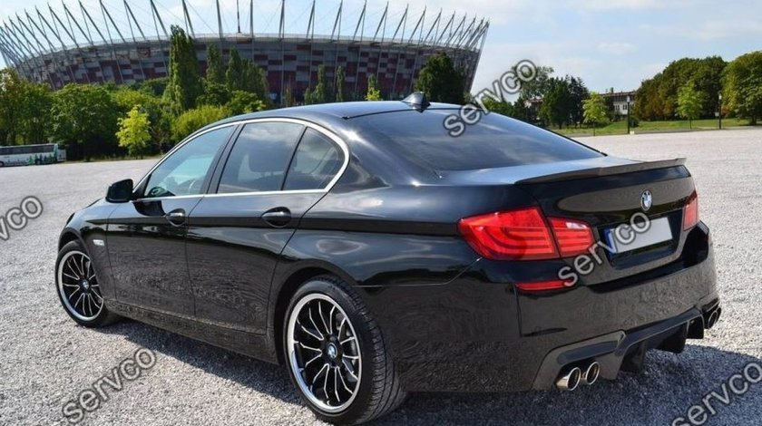 Prelungire difuzor tuning sport bara spate BMW F10 F11 Mpachet M5 DTM 2011-2017 v4