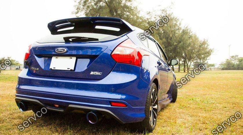 Prelungire difuzor tuning sport bara spate Ford Focus Mk3 ST Zetec 2011-2014 v1