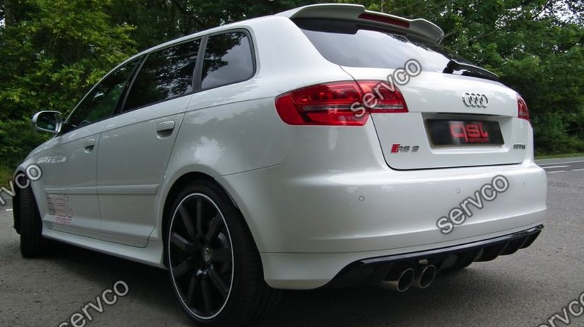Prelungire eleron haion Audi A3 8P Sportback RS3 S3 Sline 2005-2012 v2