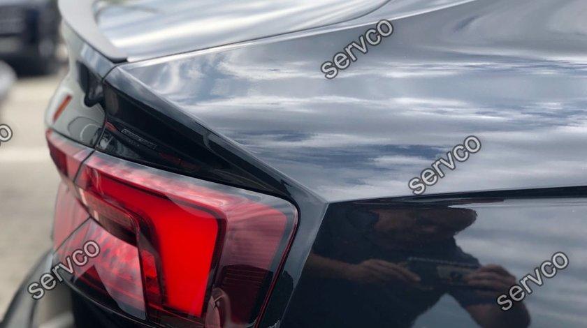 Prelungire eleron sport portbagaj tuning Audi A5 F5 Sportback Sline S-line S5 RS5 2016-2019 v2