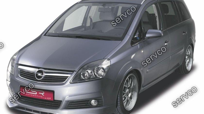Prelungire extensie buza bara fata Opel Zafira B CSR FA096 2005-2008 v2