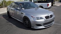 Prelungire extensie fusta spoiler lip bara BMW E60...