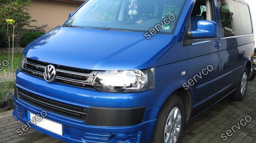 Prelungire extensie lip buza Facelift tuning sport bara fata VW T5 Transporter Sportline 10-15 v2