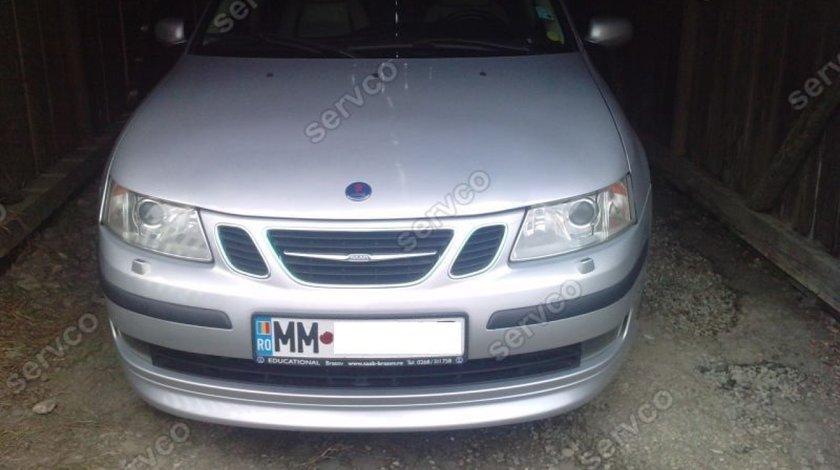 Prelungire extensie lip buza tunig sport bara fata Saab 9-3 Aero 2002-2007 v1