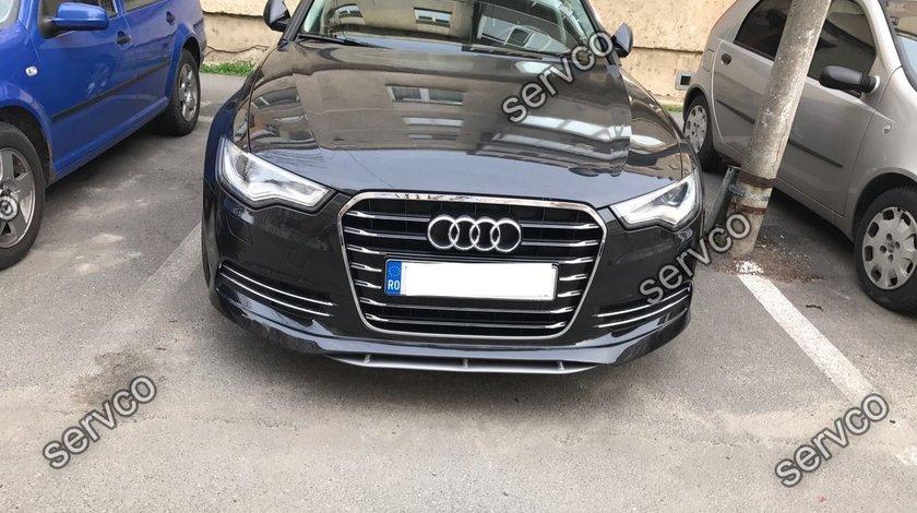 Prelungire fusta bara fata Audi A6 4G C7 2011 2012 2013 2014 ABT Sline S6 Rs6 ver1