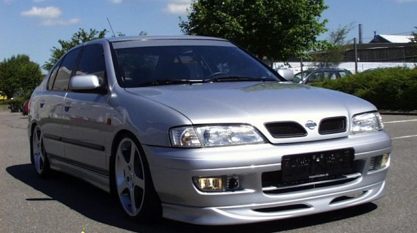 Prelungire fusta spoiler adaos bara fata Nissan Primera P11 1996 1999