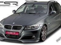 Prelungire fusta spoiler bara fata BMW E90 E91 2009-2012 LCI facelift FA117 CSR ver9