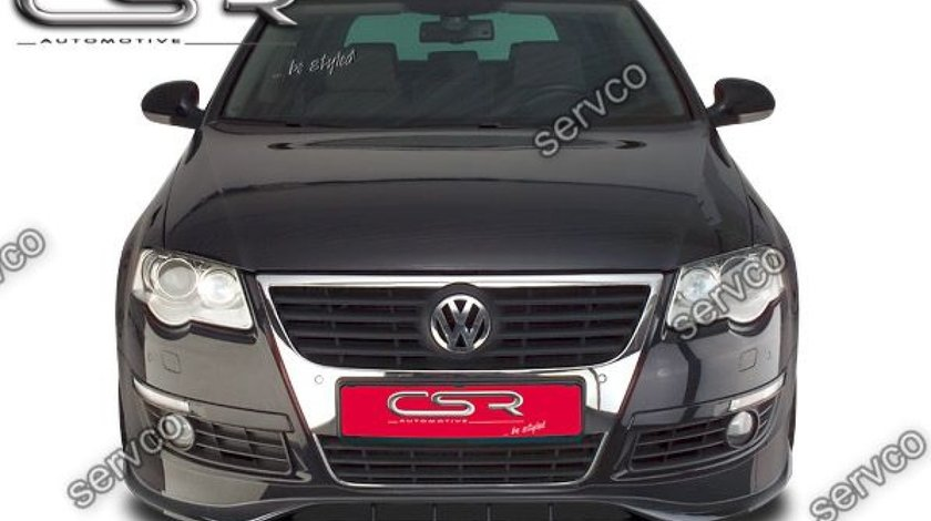 Prelungire fusta spoiler bara fata VW Passat B6 3C CSR FA037 2005-2010 v3