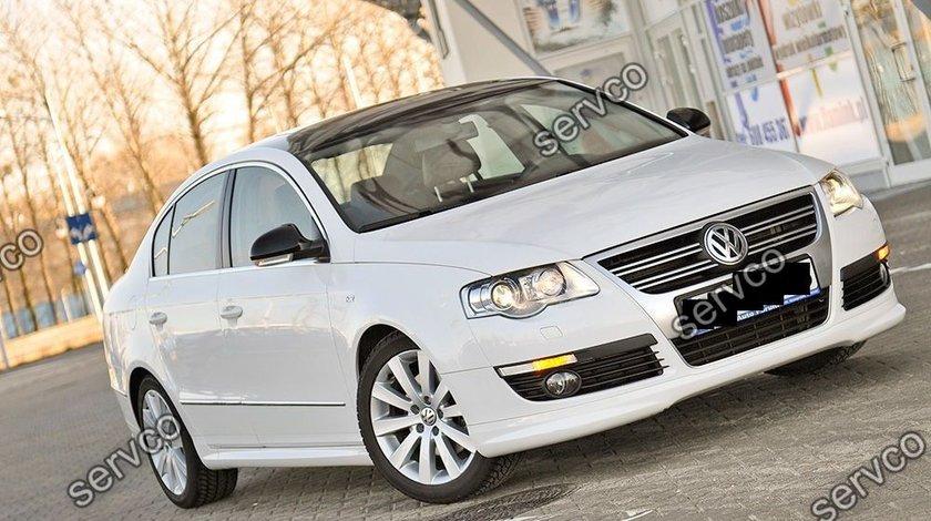 Prelungire fusta spoiler tuning sport bara fata Volkswagen VW Passat B6 3C 2005-2010 Rline ver1