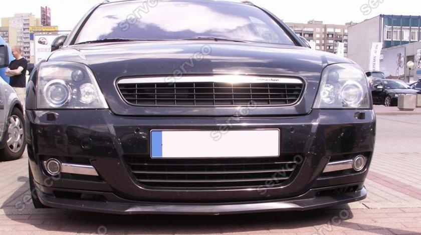Prelungire GTS lip buza tuning sport bara fata Opel Signum IRMSCHER 2002-2005 v1