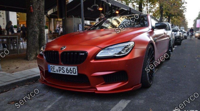Prelungire lip adaos bara fata BMW Seria 6 F06 F12 F13 Hamann 2012-2018 v1