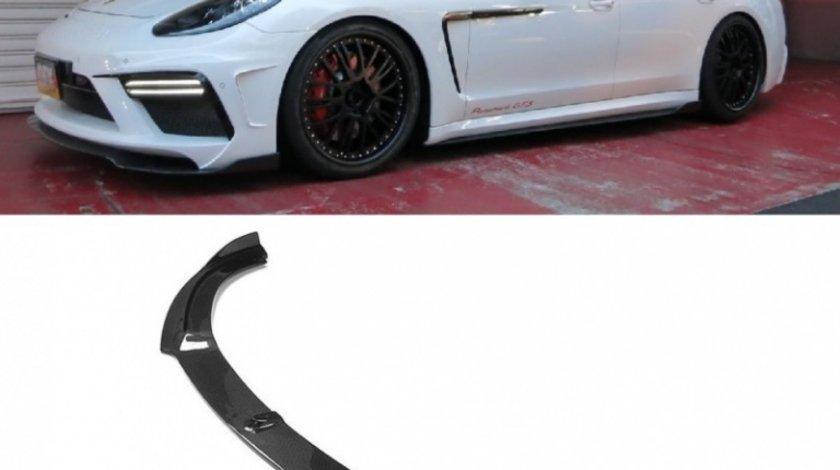 Prelungire Lip Bara Fata Porsche Panamera 970 2013-2016 Facelift Turbo Gts Carbon