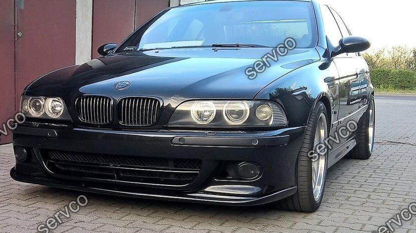 Prelungire lip buza adaos tuning sport bara fata Hamann BMW E39 cu sau fara facelift v3