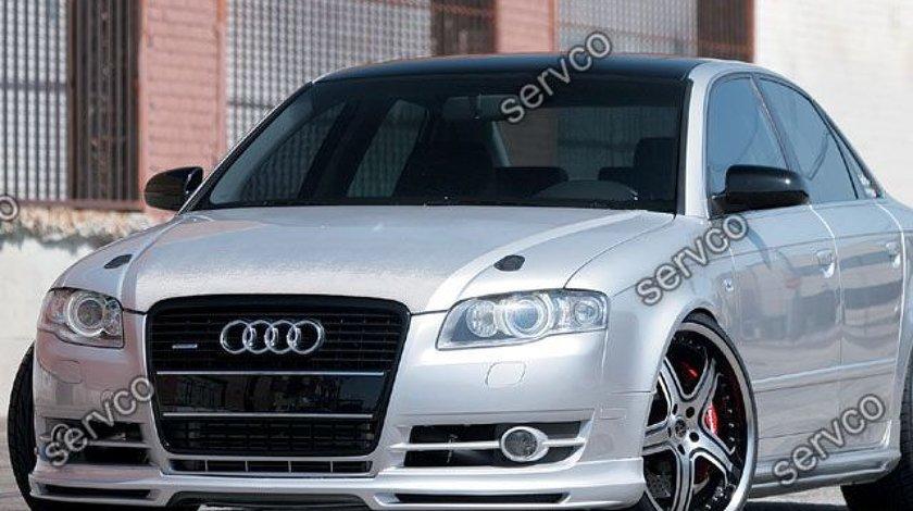 Prelungire lip buza bara fata Audi A4 B7 8E 8H ABT 2005-2007 v3
