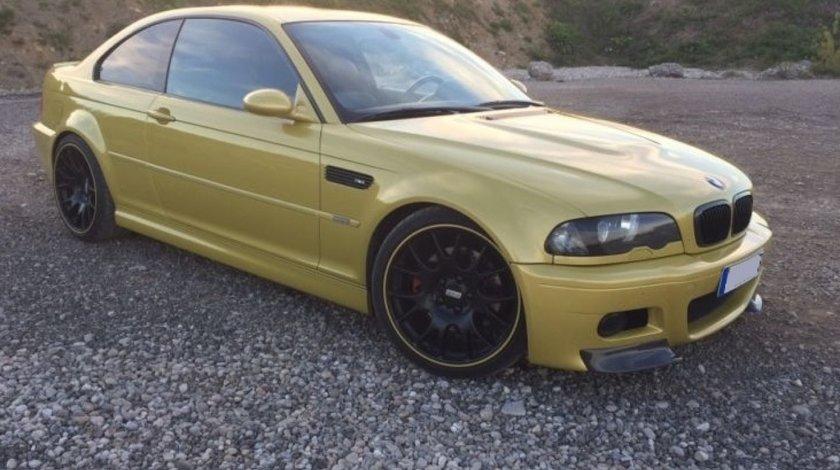 Prelungire lip buza bara fata BMW E46 seria 3 M3 Hamann v2