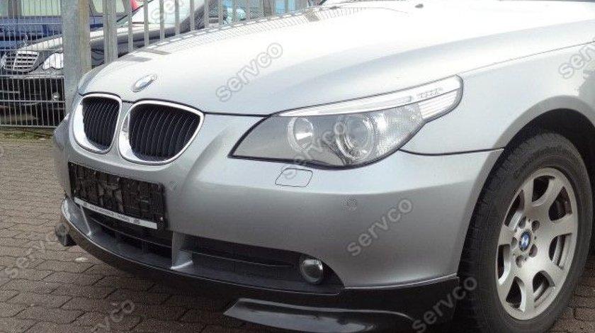 Prelungire lip buza bara fata BMW E60 E61 pachet m tech Aerodynamic M5 pt bara normala v2