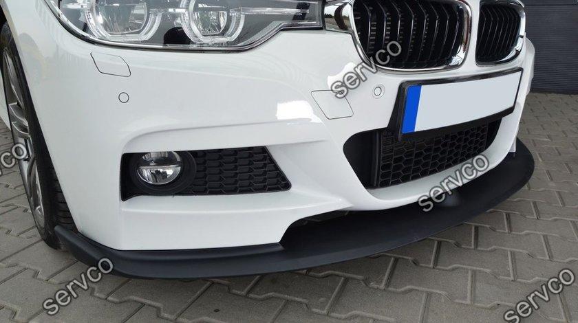 Prelungire lip buza bara fata BMW F30 F31 Cup Spoiler Mpachet 2012-2016 v7