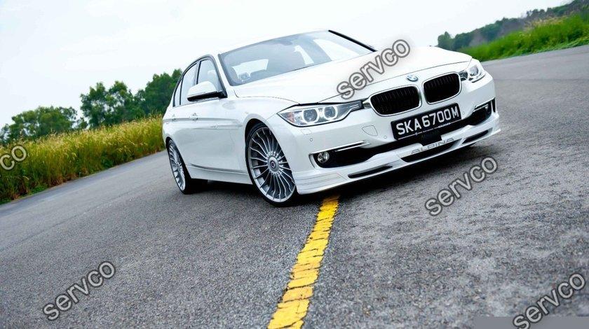 Prelungire lip buza bara fata BMW F30 F31 Seria 3 Alpina 2012-2016 v5