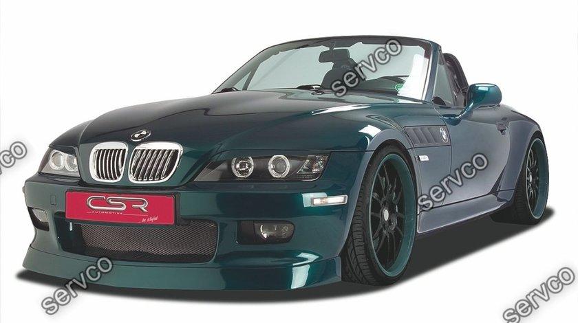 Prelungire lip buza bara fata BMW Seria 3 E36 E37 Z3 CSR FA010 1996-2002 v2