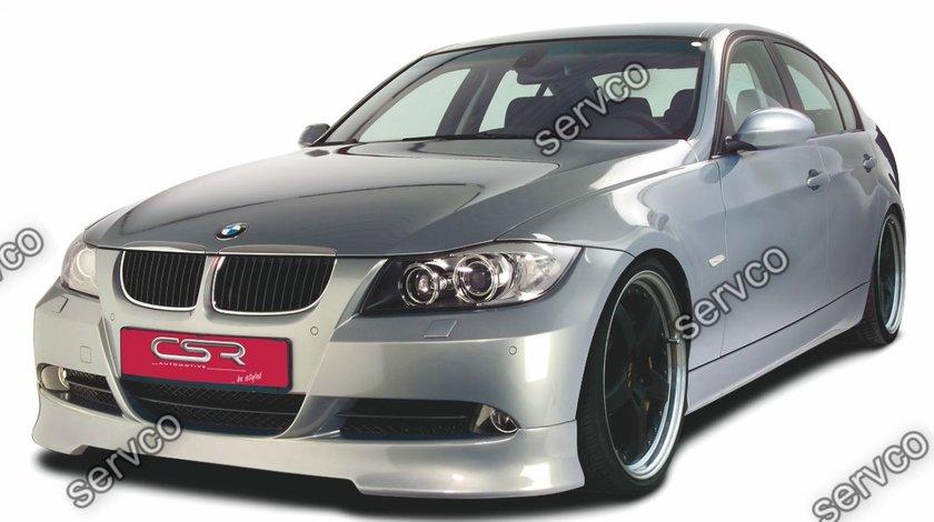 Prelungire lip buza bara fata BMW Seria 3 E90 E91 CSR FA001 2005-2008 v12