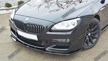 Prelungire lip buza bara fata BMW Seria 6 F06 Gran...