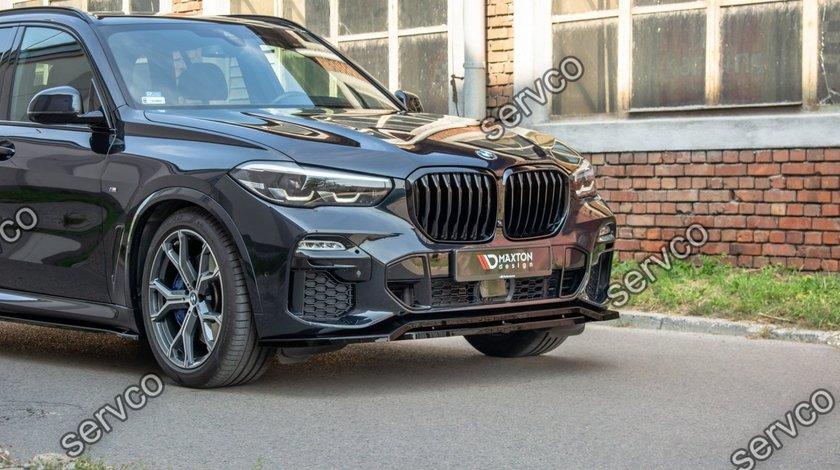 Prelungire lip buza bara fata BMW X5 G05 M-Pack 2018- v1