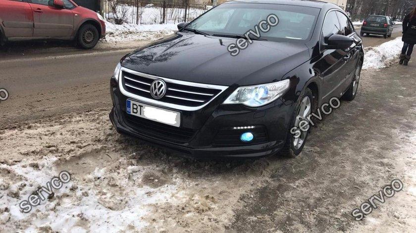 Prelungire lip buza bara fata Volkswagen Passat CC R line 2008-2012 v1