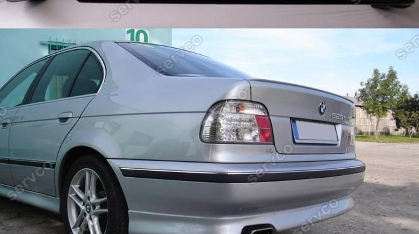 Prelungire lip buza bara spate BMW E39 ACS AC Schnitzer pentru bara normala v2