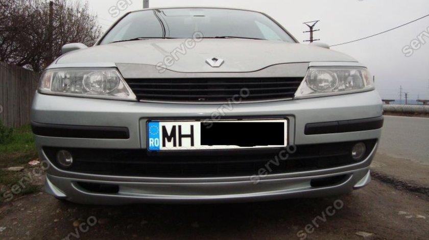 Prelungire lip buza extensie tuning sport bara fata Renault Laguna 2 2000-2005 v1