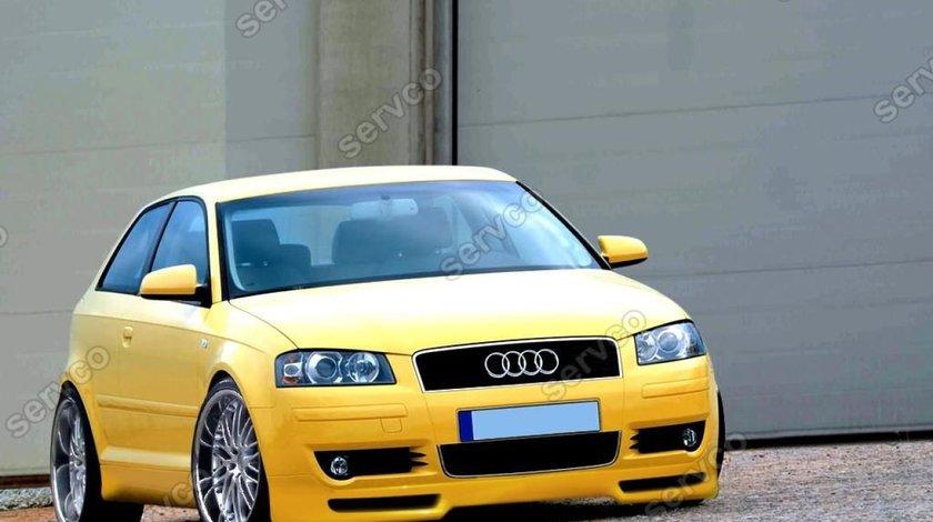 Prelungire lip buza fusta bara fata Audi A3 8P Coupe Votex 2003-2005 v1