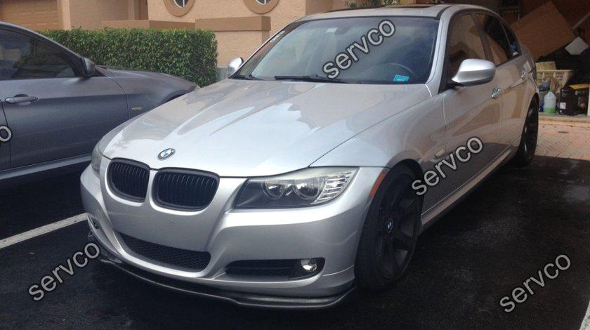 Prelungire lip buza fusta bara fata BMW Seria 3 E90 E 91 2005-2008 v10