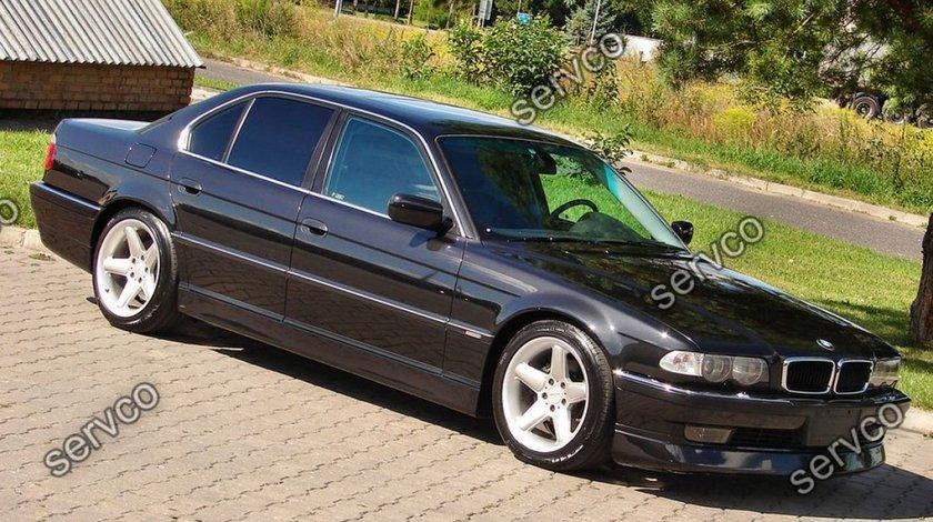 Prelungire lip buza fusta tuning sport bara fata BMW Seria 7 E38 1994-2001 v1