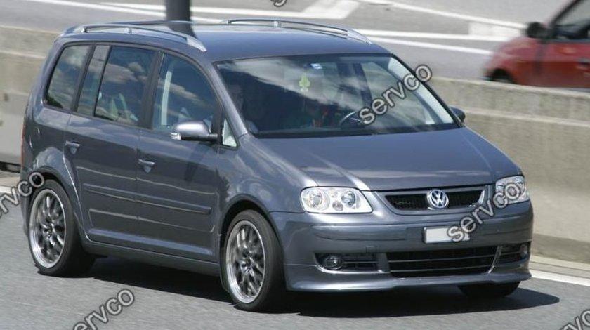 Prelungire lip buza Rline tuning sport bara fata VW Touran 2002-2007 v2