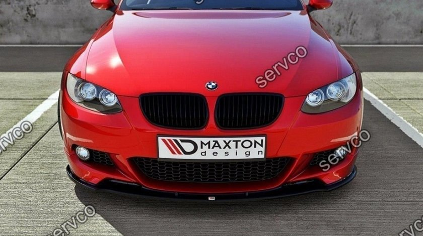 Prelungire lip buza splitter bara fata BMW Seria 3 E92 M-Pachet 2006-2010 v3