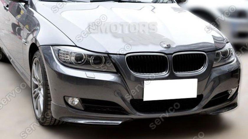 Prelungire lip buza splittere bara fata BMW E90 E91 LCI 2009-2012 v6