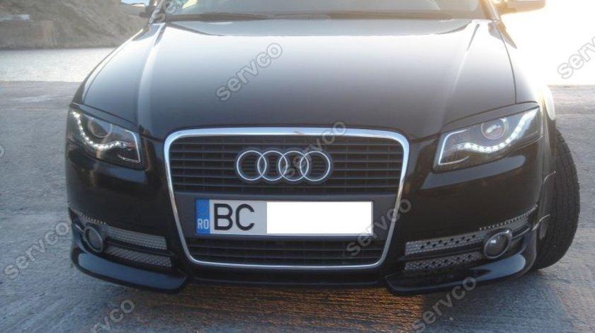 Prelungire lip buza spoiler bara fata Audi A4 B7 8E 8H S4 Rs4 Sline 2005-2007 v1