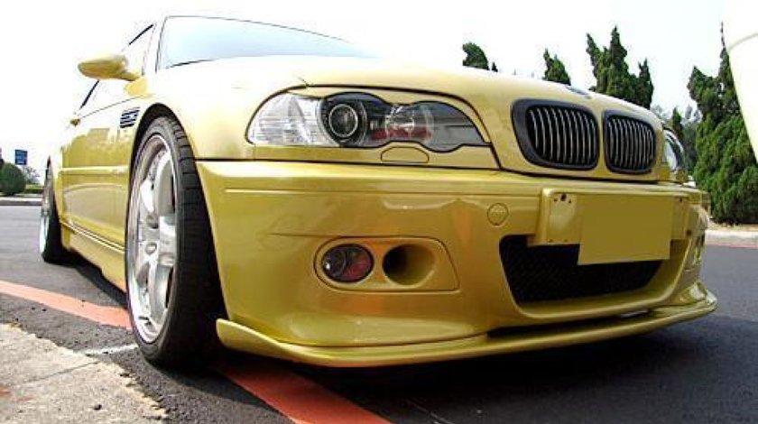 Prelungire lip buza spoiler bara fata BMW E46 seria 3 M3 Hamann v2