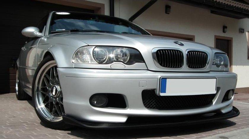 Prelungire lip buza spoiler bara fata BMW E46 seria 3 MPachet Hamann v1