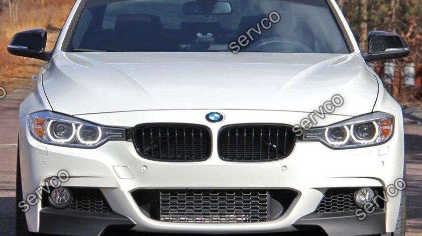 Prelungire lip buza spoiler bara fata M Pachet BMW F30 F31 2012-2016 v3