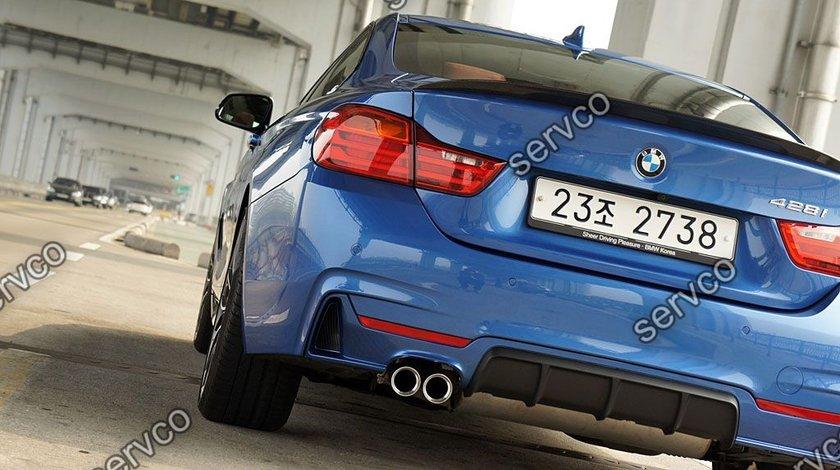 Prelungire lip buza spoiler bara spate BMW F32 Seria 4 420 M performance v1