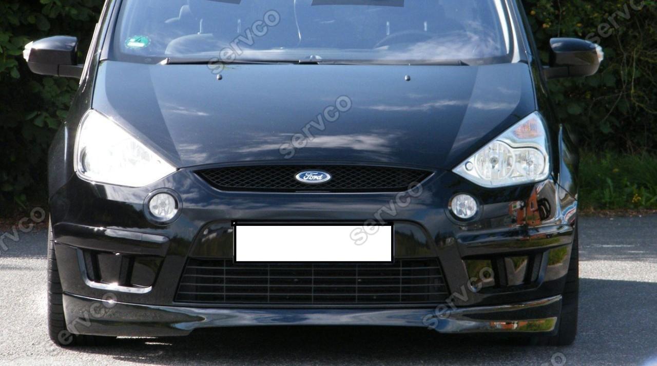 Prelungire lip buza spoiler tuning sport bara fata Ford S-Max S Max 2006-2010 v1
