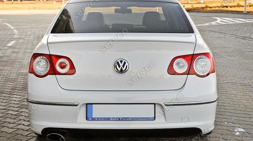 Prelungire lip buza spoiler tuning sport bara spate VW Passat B6 3C Rline Sedan 2005-2010 v1