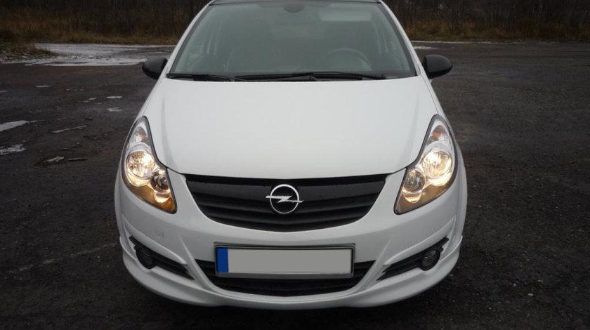 Prelungire lip buza spoiler tuning sport bara fata Opel Corsa D OPC Line 2006-2014 v1