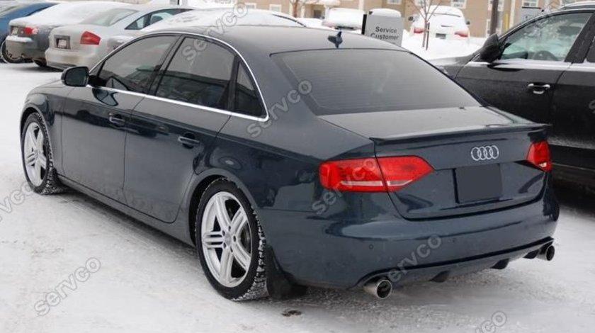 Prelungire lip buza spoiler tuning sport bara spate Audi A4 B8 8K S4 RS4 Sline v3