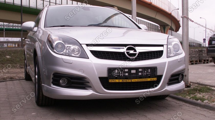 Prelungire lip buza spoiler tuning sport bara fata Opel Signum 2005-2008 v2