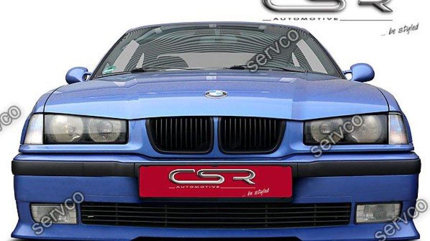 Prelungire lip buza sport bara fata BMW Seria 3 E36 CSR FA002 1990-2000 v1