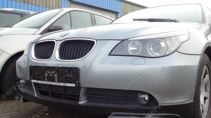 Prelungire lip buza tuning sport bara fata BMW E60 E61 pt bara normala 2003-2007 v2